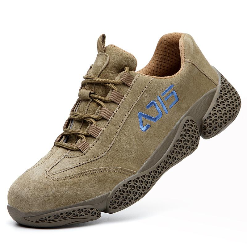 Wear-proof Safety Shoes for Men, Suede
