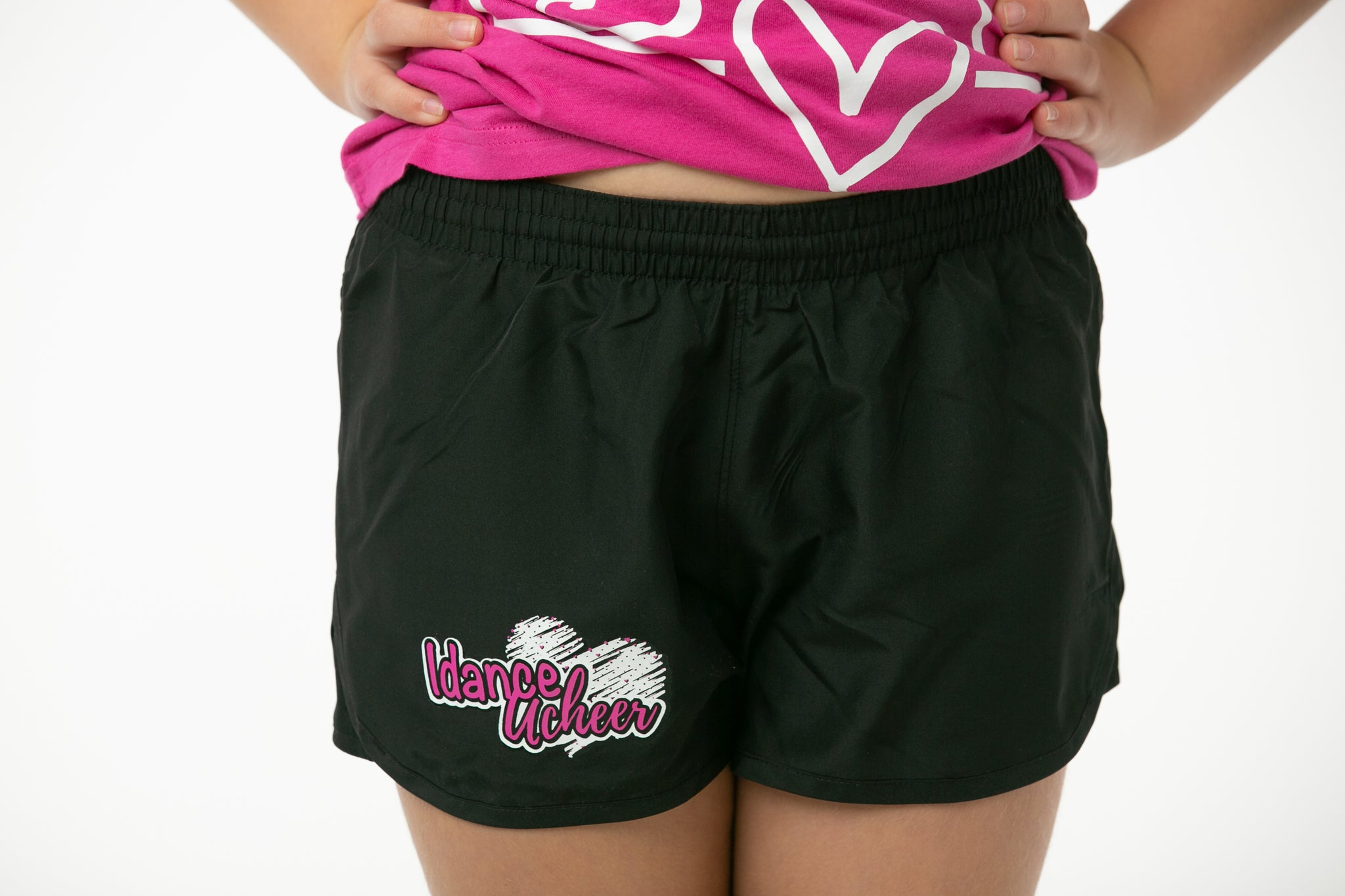 IdanceUcheer Girls Wayfarer Black Shorts