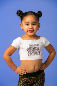 Operation Black Friday Kids Crop Top