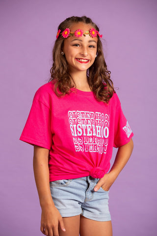 Sisterhood Pink Shirt
