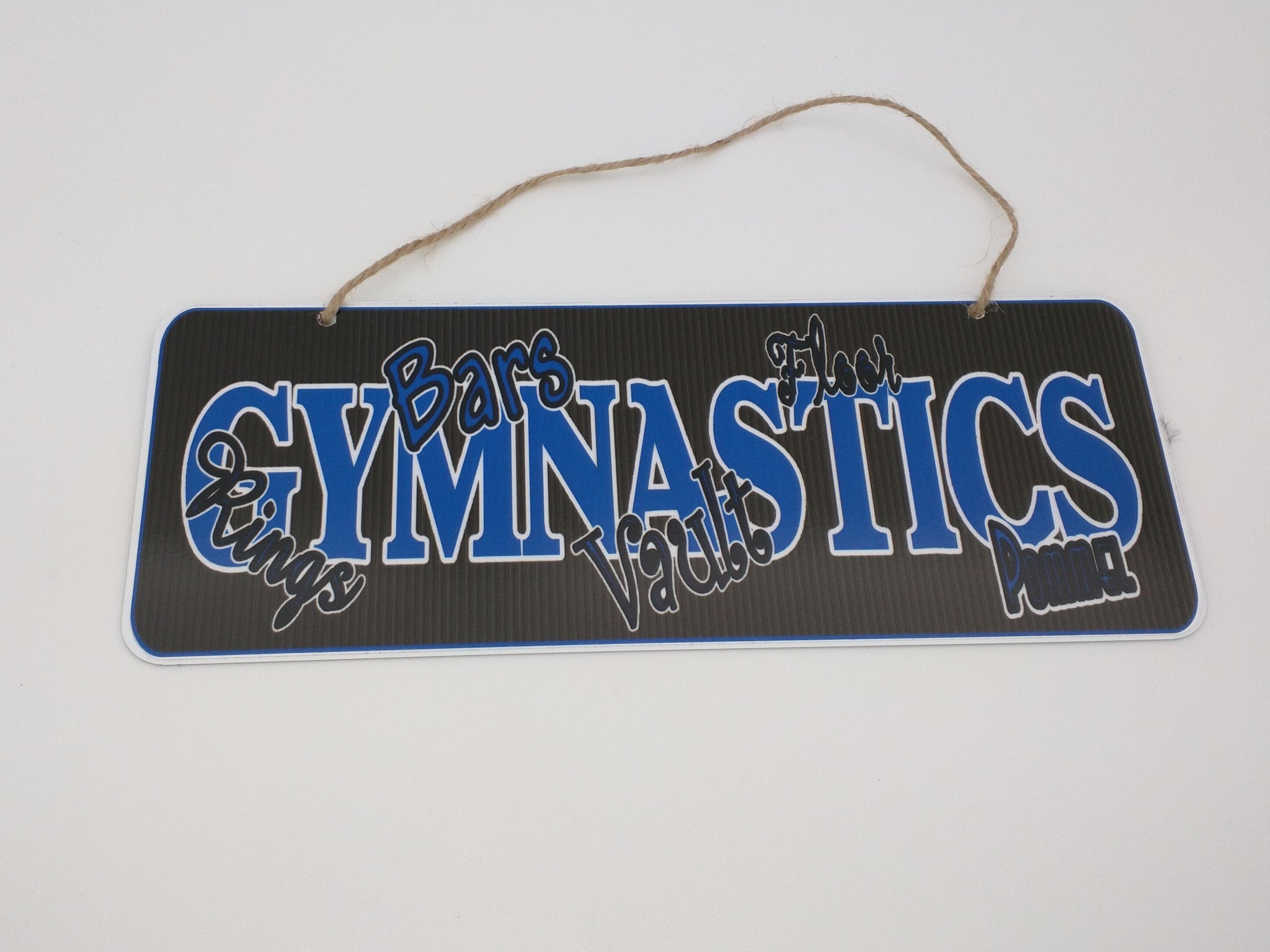 boys gymnastic sign
