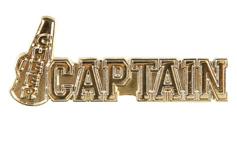 Captain Lapel Pin