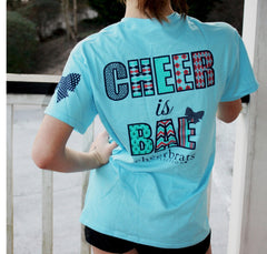 cheer is bae model short sleeve