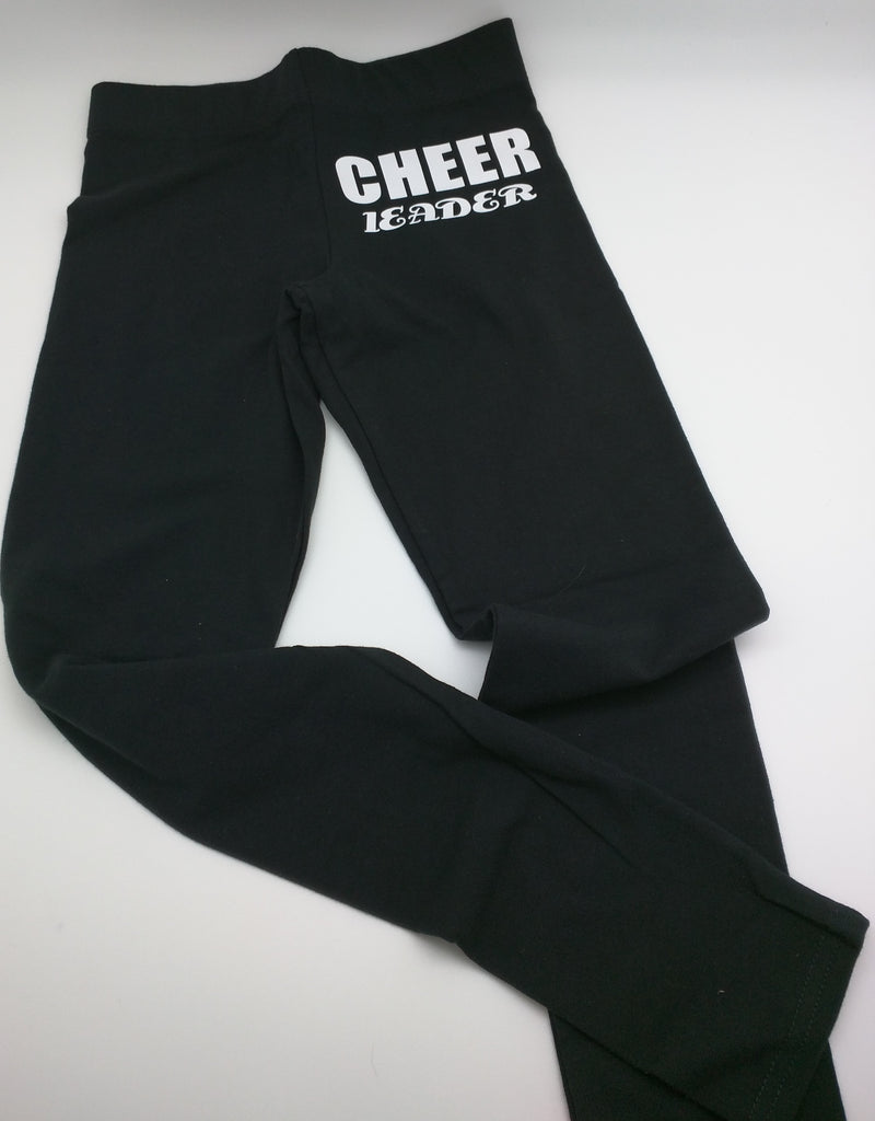 cheer leader leggings