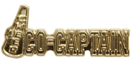 Co-Captain Lapel Pin