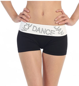 """Dance"" Sequin Fold-over Shorts"