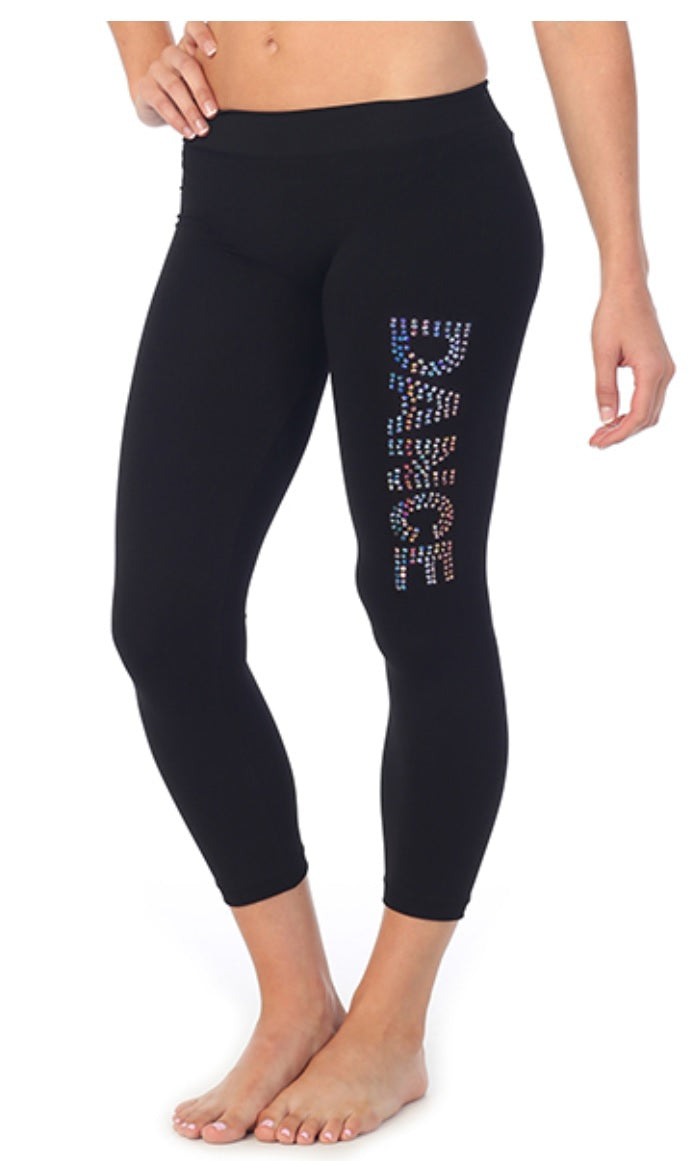 dance sequin leggings