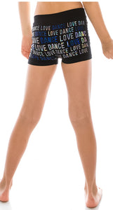 Dance Sequin Shorts - Blue