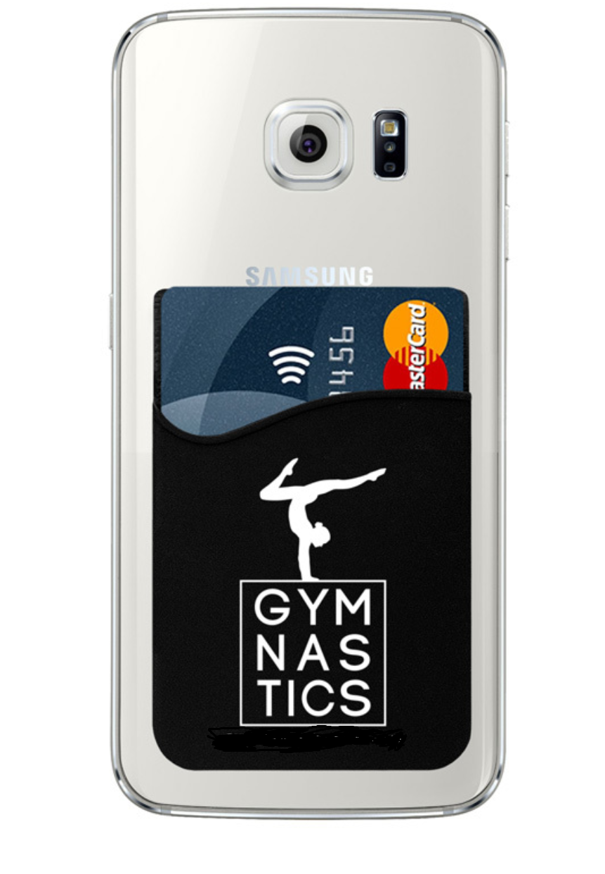 Gymnast Cell Phone Wallet