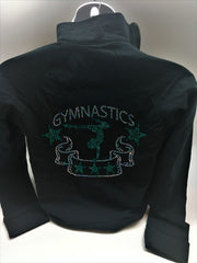 Gymnastic Sequin Jacket