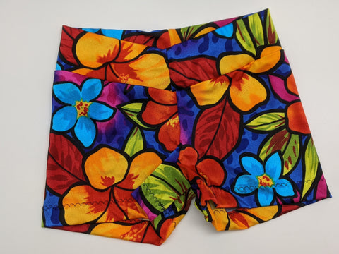 Bright Flower Shorts