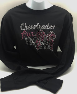 """Cheerleader from Bow to Toe"" Long Sleeve Shirt"