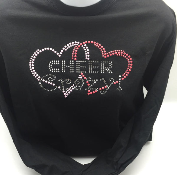 cheer crazy black