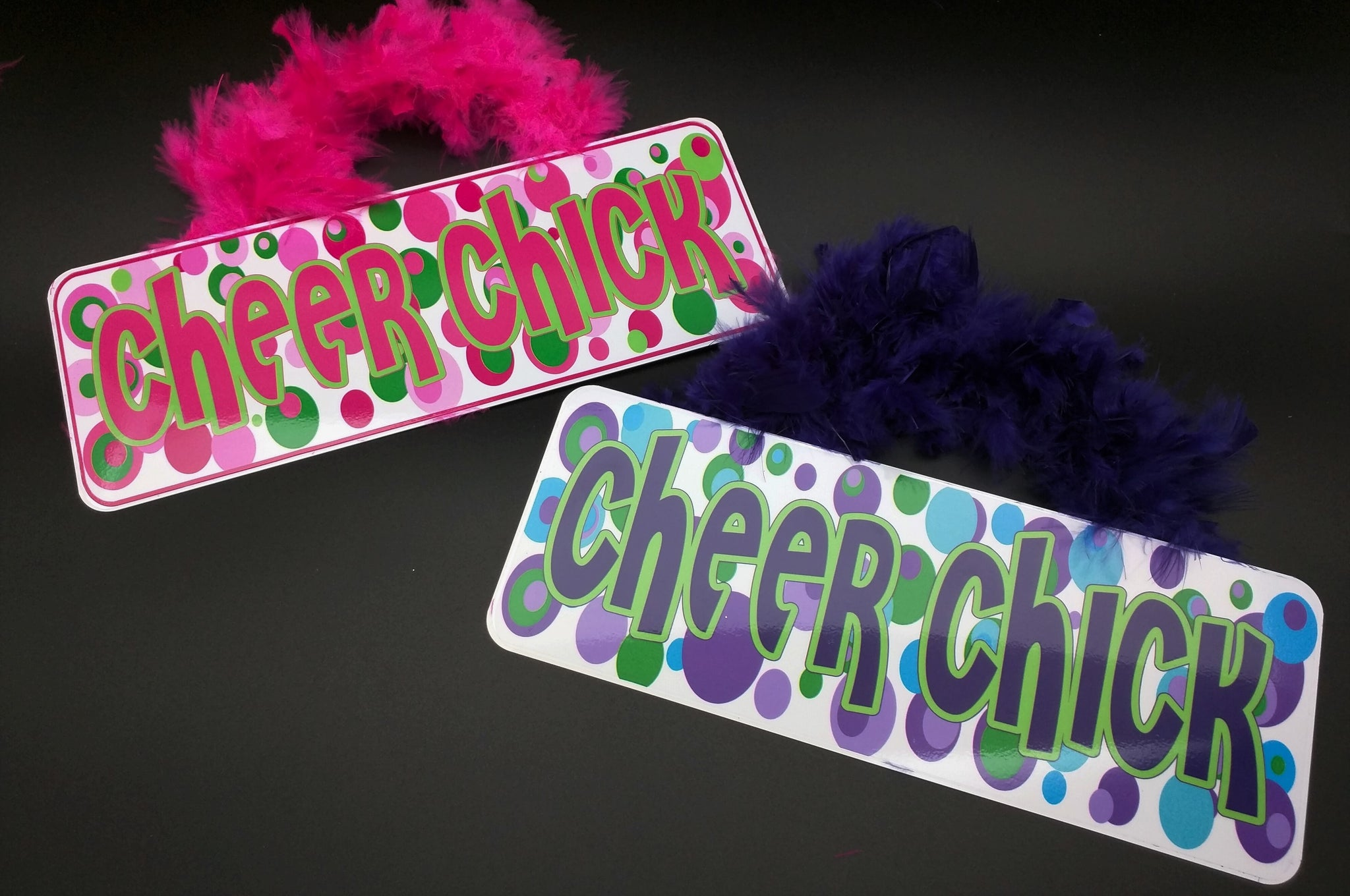 "Groovy Signs ""Cheer Chick"" Large"