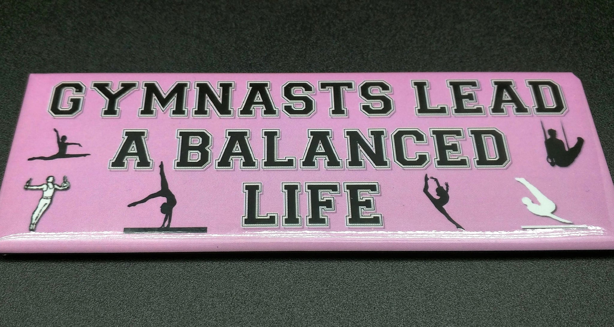 gymnast lead balanced life