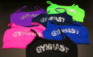 Gymnast Sequin Sports Bra