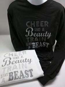 cheer like a beauty shirt
