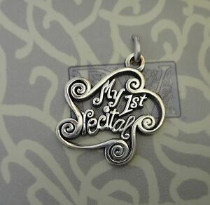 """My 1st Recital"" Sterling Silver Charm"
