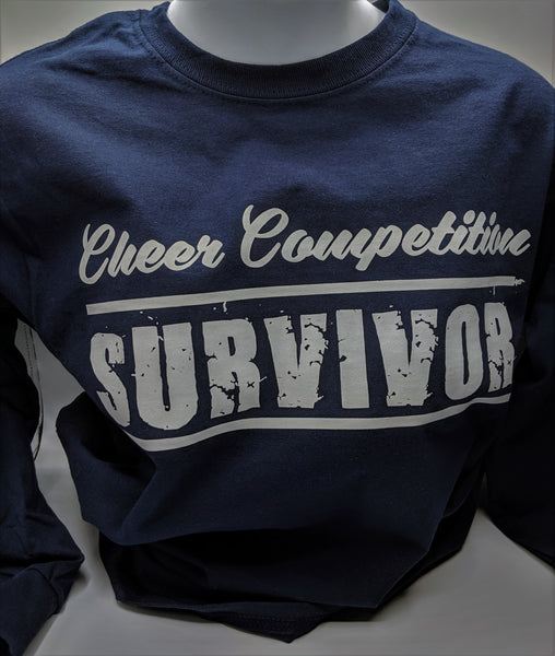 Long Sleeve Cheer Competition Shirt