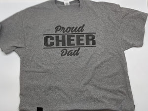 Proud Cheer Dad Shirt