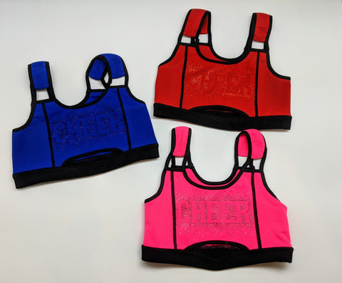 Peek-a-Boo Sports Bra