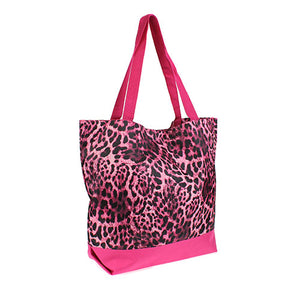 pink cheetah bag