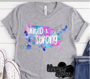 United & Strong Short Sleeve Shirt