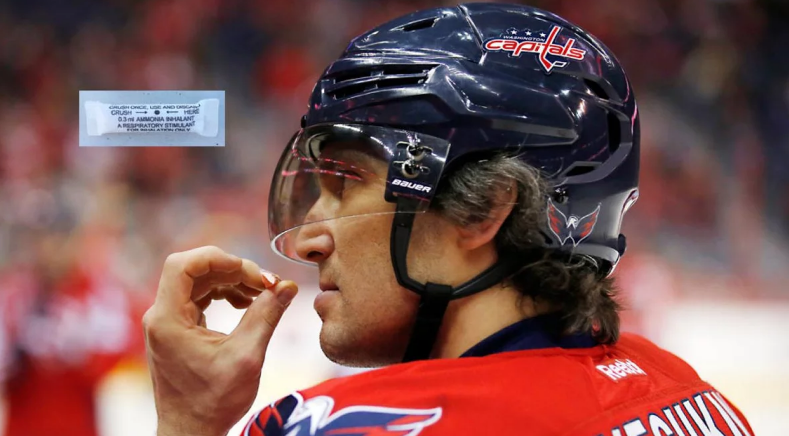 Whiff 'n poof: NHLers still swear by smelling salts