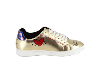 Sneakers Donna Americanino Pazzaria Gold SS18