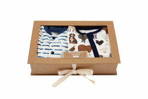 Mud Pie Watch Me Grow Farm Sleeper Set