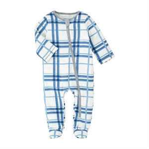 MP Blue Plaid Sleeper