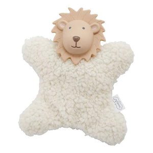 MP Lion Plush Teether