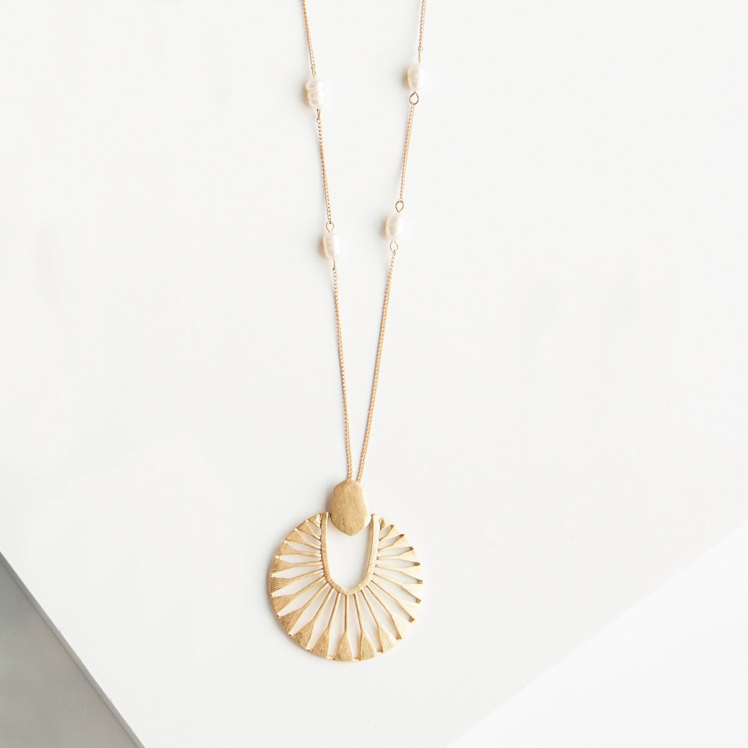 MM Paisleigh Necklace Gold