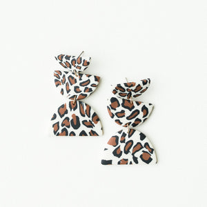MM Shea Earrings Leopard