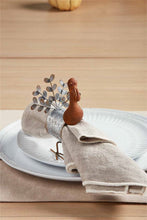 Load image into Gallery viewer, MP Tin Turkey Napkin Ring