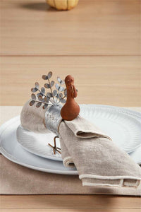 MP Tin Turkey Napkin Ring