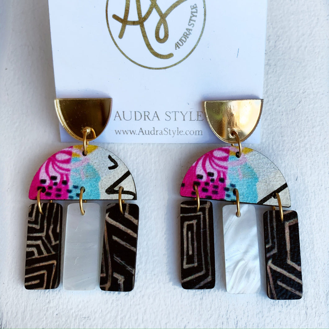 RC- Audra Style Earrings $36