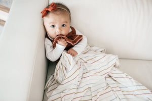 Copper Pearl Piper Swaddle