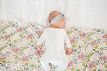 Load image into Gallery viewer, Copper Pearl Olive Knit Blanket Swaddle