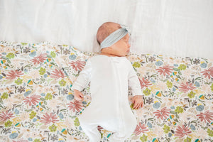 Copper Pearl Olive Knit Blanket Swaddle