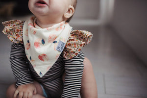Copper Pearl Morgan Baby Bandana Bib Set (4-Pack)