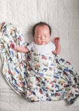 Load image into Gallery viewer, Copper Pearl Diesel Knit Swaddle Blanket