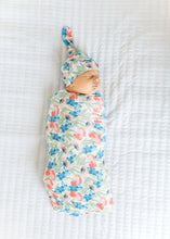 Load image into Gallery viewer, Copper Pearl Wren Knit Swaddle Blanket