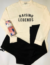Load image into Gallery viewer, Mary Square Raising Legends Sweatshirt Ivory