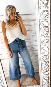 SL Wide Leg Denim Pant