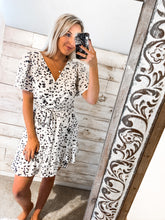 Load image into Gallery viewer, Classy & Sassy Spots White Dress