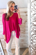Load image into Gallery viewer, Hot Pink Spring Sweater