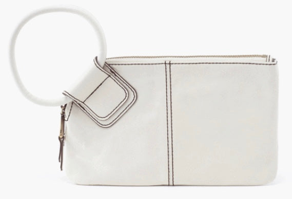 HOBO Sable Wristlet Wallet Latte