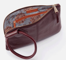 Load image into Gallery viewer, HOBO Sable Wristlet Wallet Deep Plum