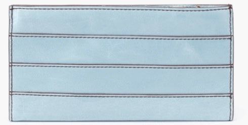 HOBO Rail Wallet Whisper Blue